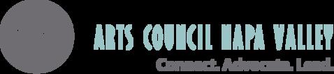 Logo for arts council napa valley