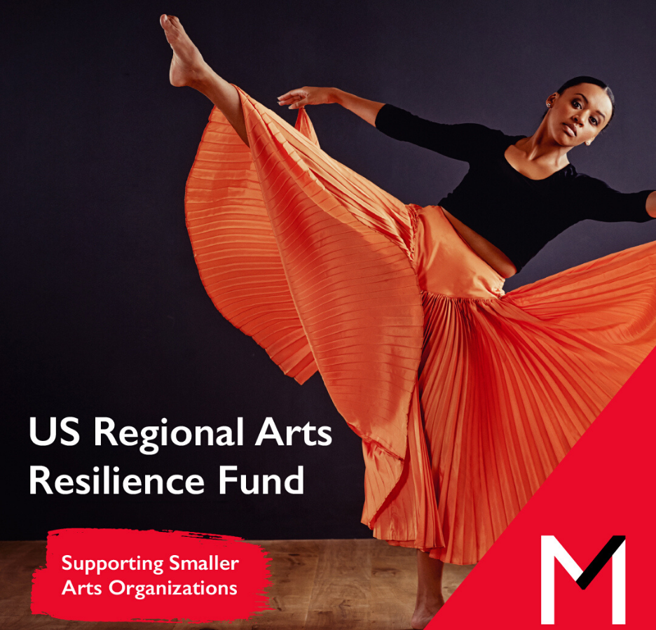 US Regional Arts Resilience Fund featured image with dancer
