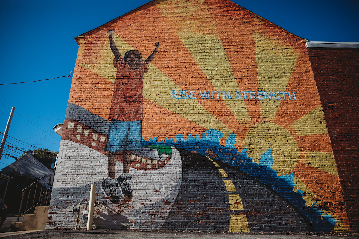 Rise With Strength Mural hosted on the Public Art Archive
