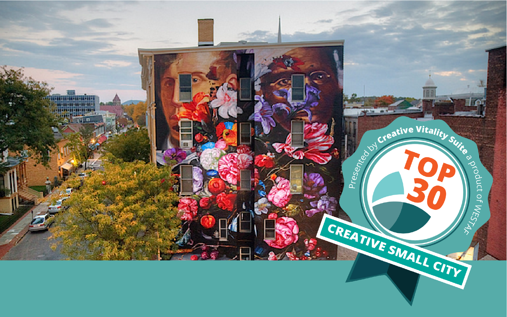 CVSuite Top 30 Creative Small Cities Featured Image