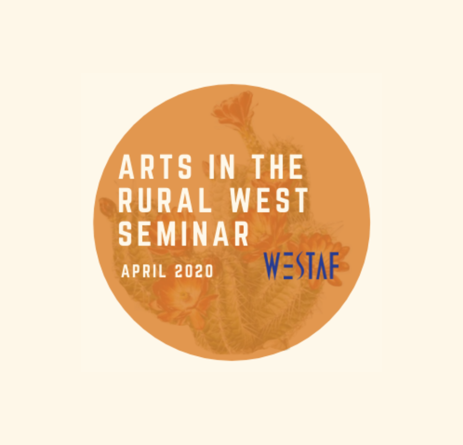 Arts in the Rural West Seminar logo