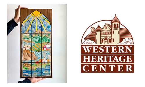 Montana Western Heritage Center Artpiece