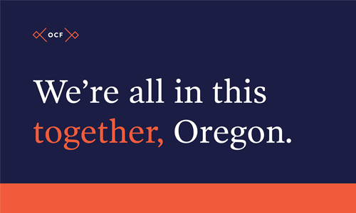 Oregon Arts and Culture Recovery Program Banner