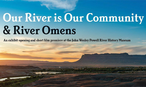 Our River is Our Community Banner AD
