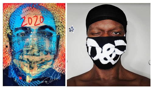 Pandemic Self Portraits