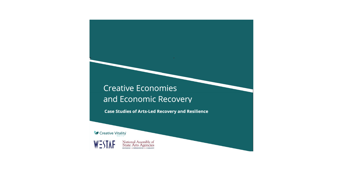 Announcing New Arts and Economic Recovery Research