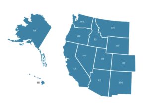 13 Western States