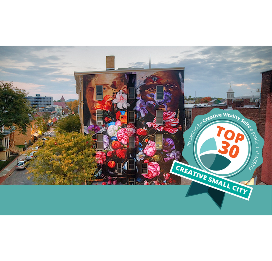 CVSuite's Top 30 Most Creative Small Cities List