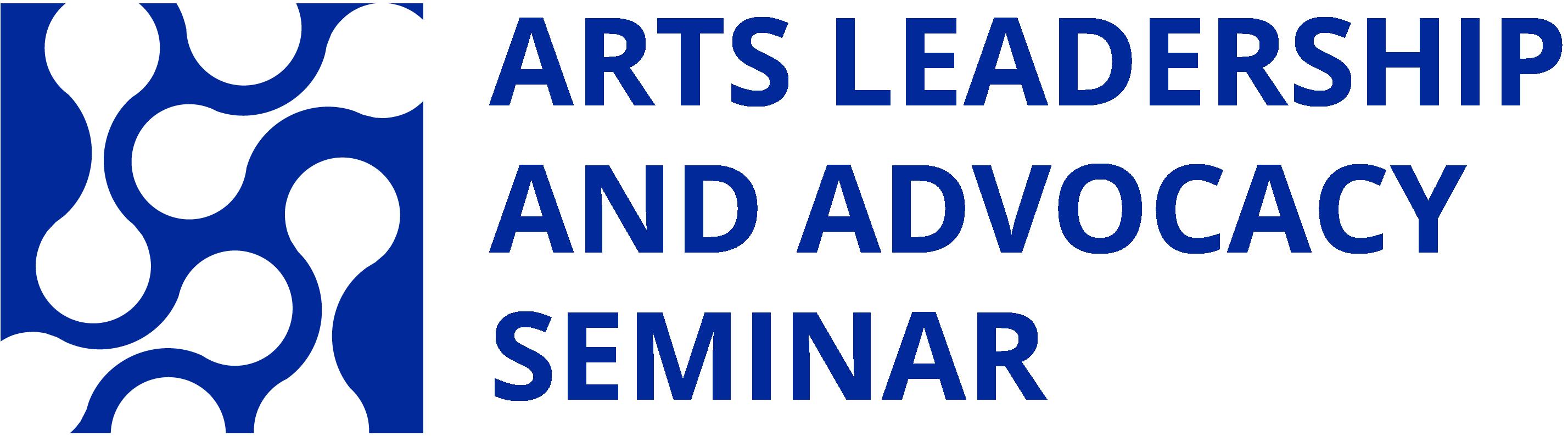 Arts Leadership and Advocacy Seminar Logo