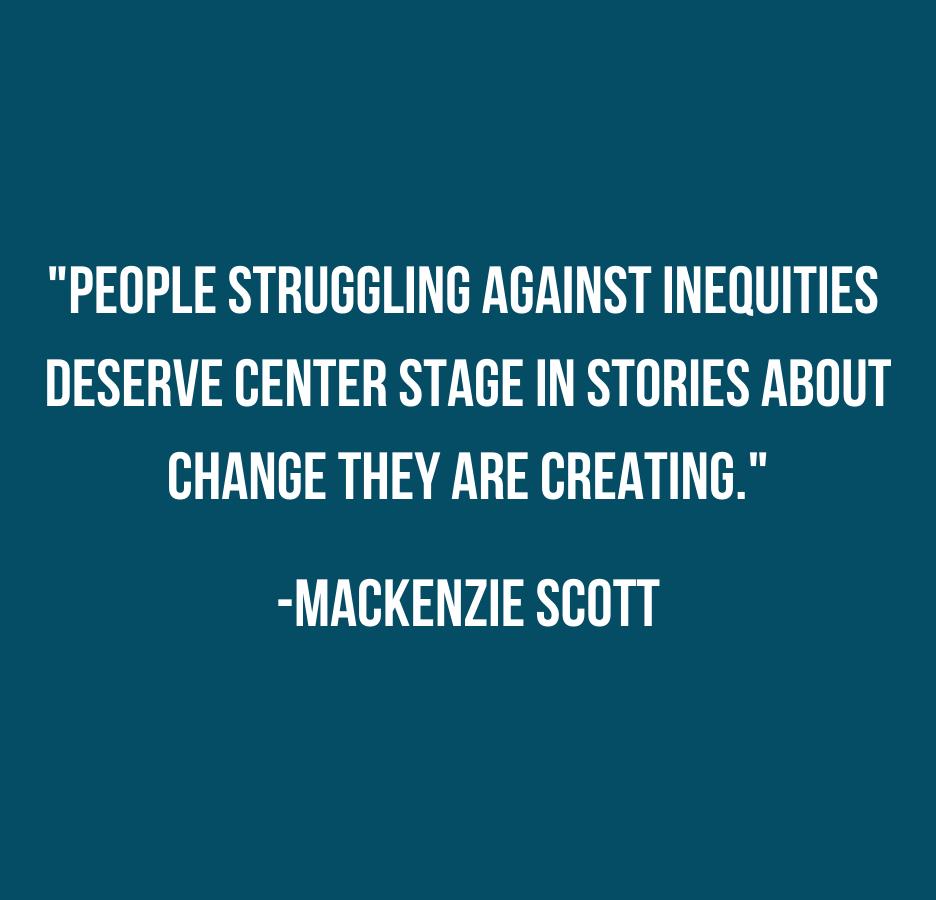 Mackenzie Scott Quote